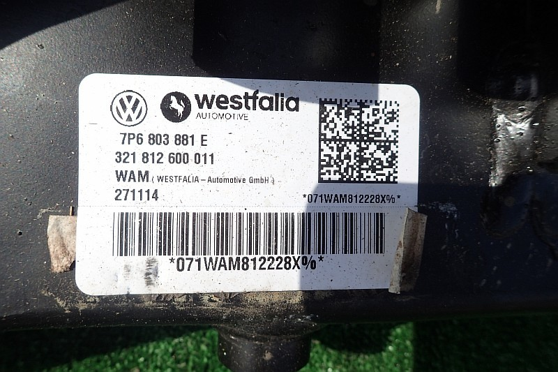 BELKA POD HAK HOLOWNICZY VW TOUAREG 7P 7P6803881E