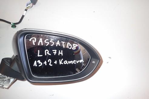 VW PASSAT B8 LUSTERKO PRAWE 13+2+KAMERA LR7H