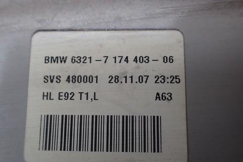 BMW E92 M3 LAMPA TYLNA LEWA 7174403
