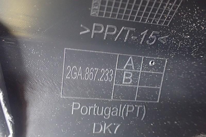 VW T ROC OSLONA TAPICERKA SLUPKA LEWA 2GA867233B