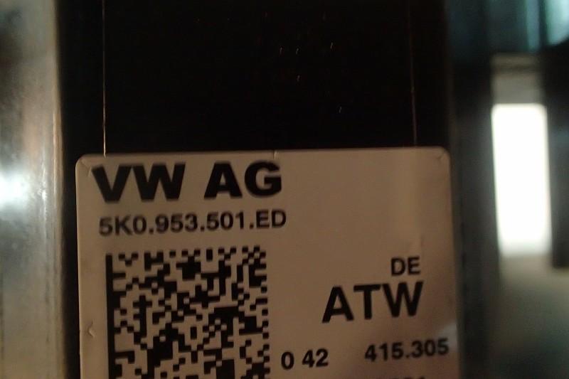 VW SHARAN MANETKI Z TASMA 5K0953569AN 5K0953501ED