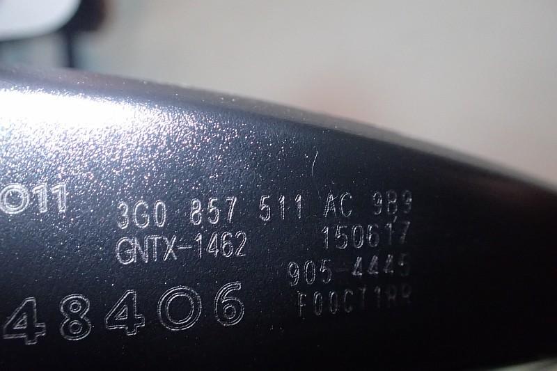 VW AUDI SKODA LUSTERKO WEWNETRZNE 3G0857511AC