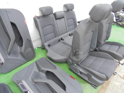 VW PASSAT B8 ALLTRACK FOTELE SKORA  ALCANTARA