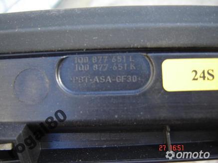 OWIEWKA WIATROŁAP PRZÓD VW EOS 1Q0 877 651L / K