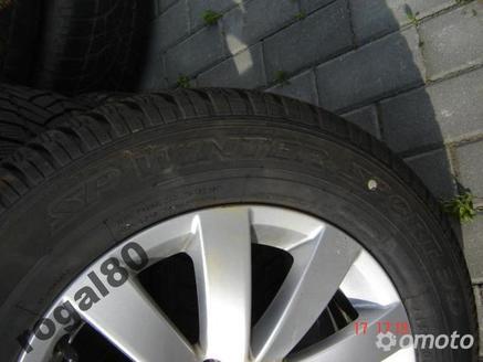 VW PASSAT 3AA FELGI ORYG.Z OPONAMI DUNLOP