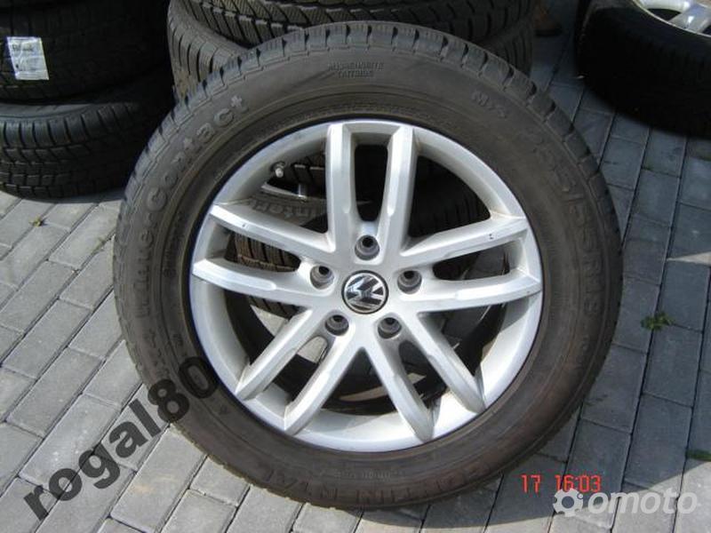 VW TOUAREG 7P FELGI ORYG.Z OPONAMI CONTINENTAL