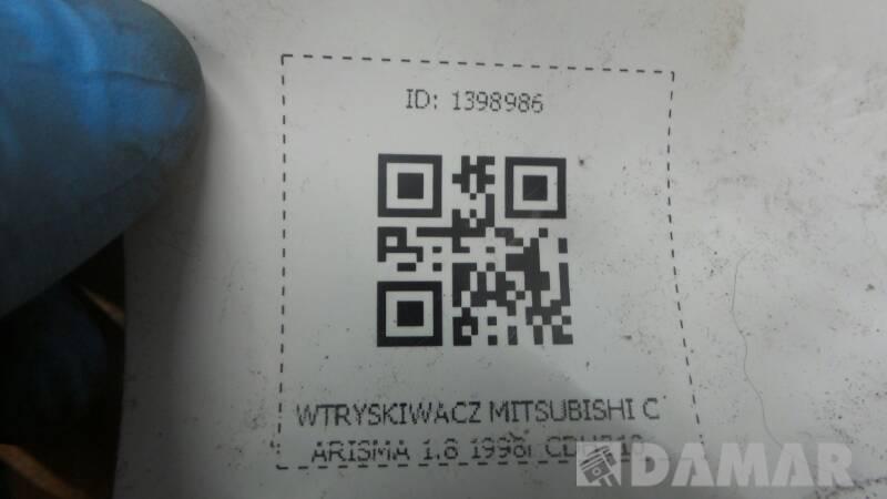 CDH210 WTRYSKIWACZ MITSUBISHI CARISMA 1.8 1998r