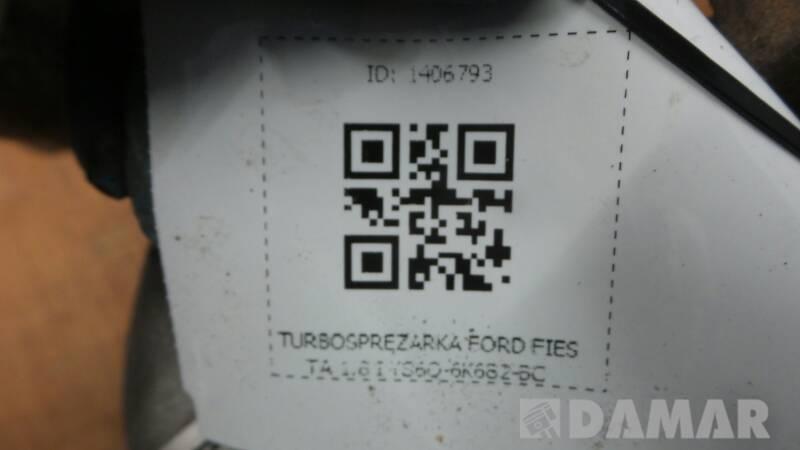YS6Q-6K682-BC TURBOSPREZARKA FORD FIESTA 1.8 I