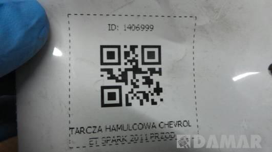 TARCZA HAMULCOWA PRZOD CHEVROLET SPARK 2011
