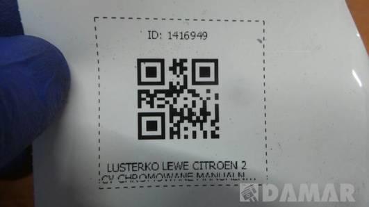 LUSTERKO LEWE CITROEN 2CV 85r CHROM