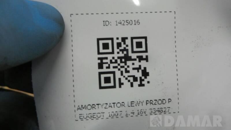 AMORTYZATOR PRAWY PRZOD PEUGEOT 1007 16V 334827