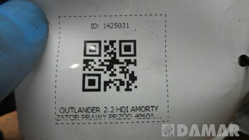 4060A174 AMORTYZATOR PRAWY PRZOD OUTLANDER 2.2HDI