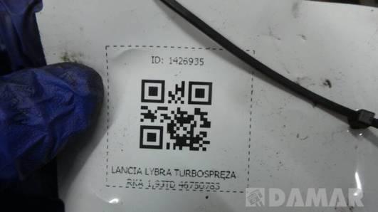 46750783 TURBOSPREZARKA LANCIA LYBRA 1,9JTD