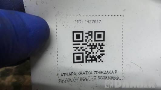 ATRAPA KRATKA ZDERZAKA PRAWA VW GOLF VII 5G0853666