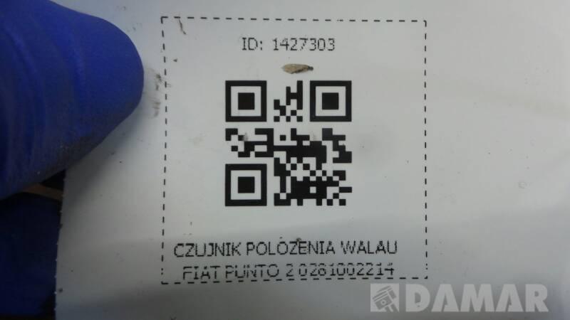 0281002214 CZUJNIK POLOZENIA WALAU FIAT PUNTO 2