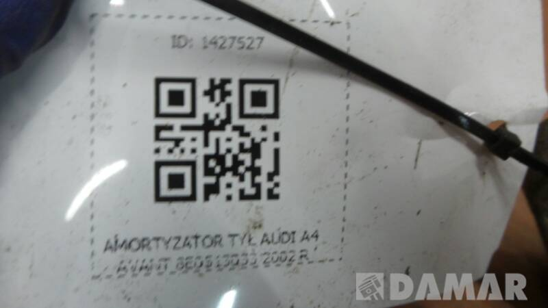 8E0513033 AMORTYZATOR TYL AUDI A4 AVANT 2002 R