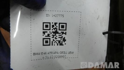 8208667 ATRAPA GRILL LEWA BMW E46