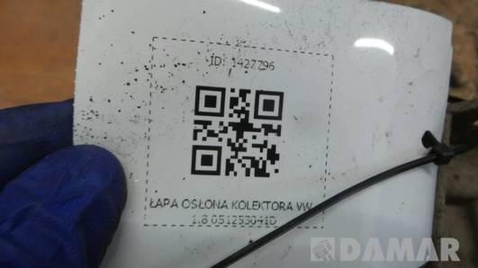 051253041D LAPA OSLONA KOLEKTORA VW 1.8