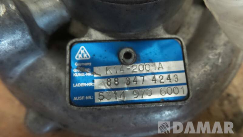 53149706001 TURBOSPREZARKA ALFA ROMEO 33 1.8 TD