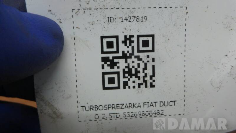 53269806482 TURBOSPREZARKA FIAT DUCATO 2.5TD