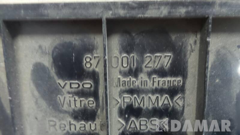 87001277 LICZNIK ZEGAR PEUGEOT 306 1996R