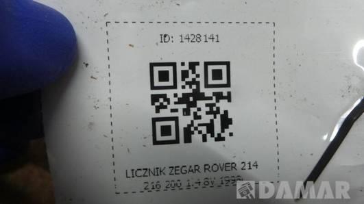 LICZNIK ZEGAR ROVER 214 216 200 1.4 8V 1998r