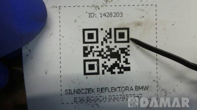 0307852342 SILNICZEK REFLEKTORA BMW E36 BOSCH