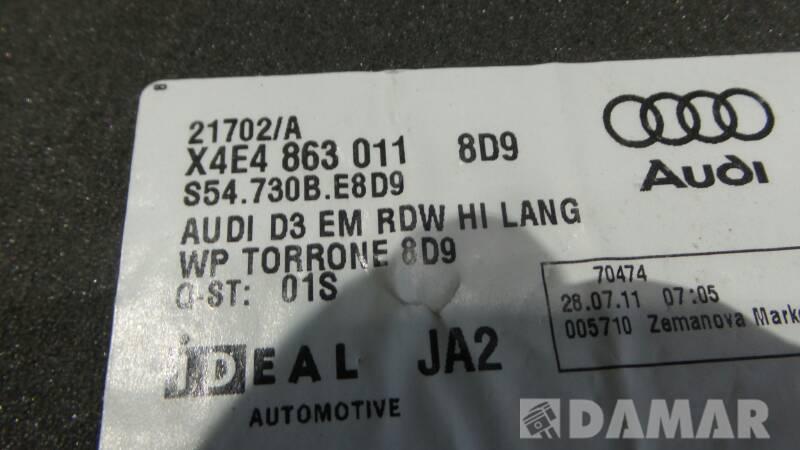 DYWANIK PRAWY TYL AUDI A8 D3 4E4863011 2011r