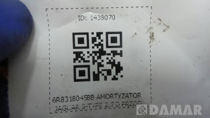 6R8318045BB AMORTYZATOR JAGUAR S-TYPE 2.7 D PRZOD