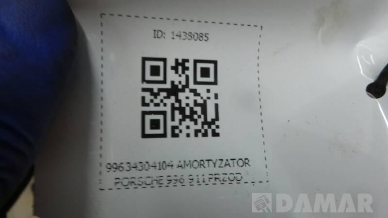 99634304104 AMORTYZATOR PORSCHE 996 911 PRZOD