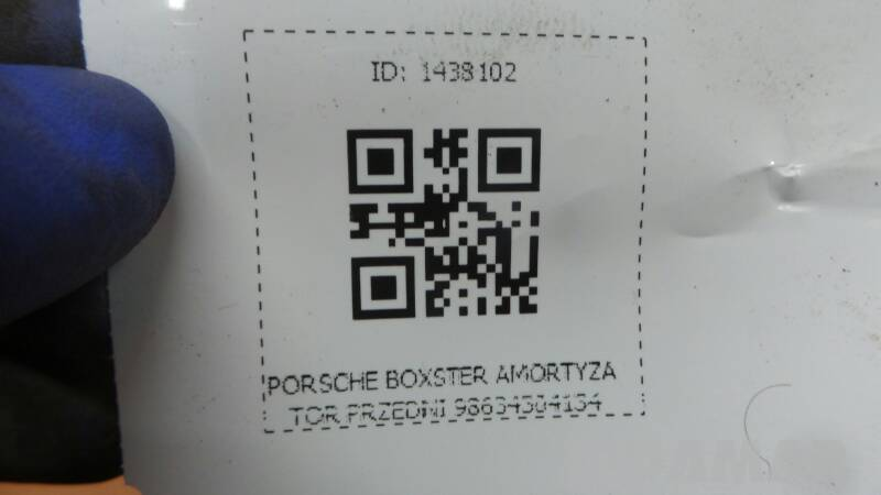 98634304134 AMORTYZATOR PRZEDNI PORSCHE BOXSTER