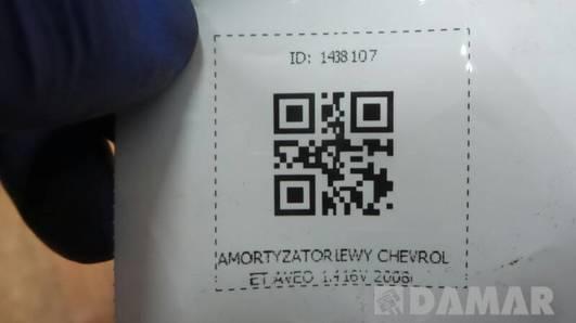 AMORTYZATOR LEWY CHEVROLET AVEO 1.4 16V 2008r