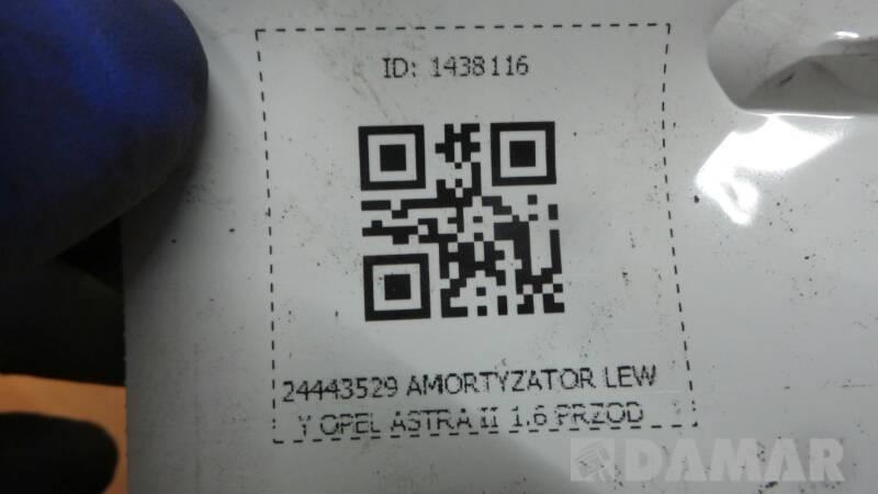 24443529 AMORTYZATOR LEWY OPEL ASTRA II 1.6 PRZOD