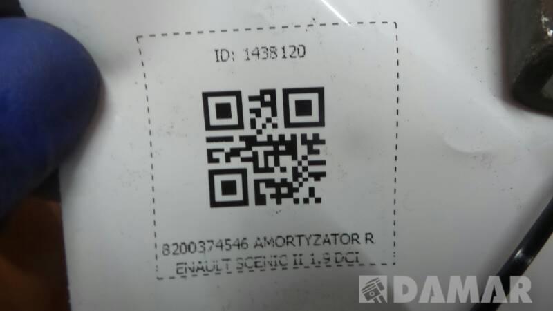 8200374546 AMORTYZATOR RENAULT SCENIC II 1.9 DCI