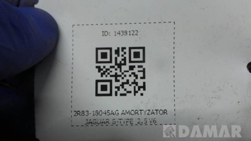 2R83-18045AG AMORTYZATOR JAGUAR S-TYPE  2.5 V6
