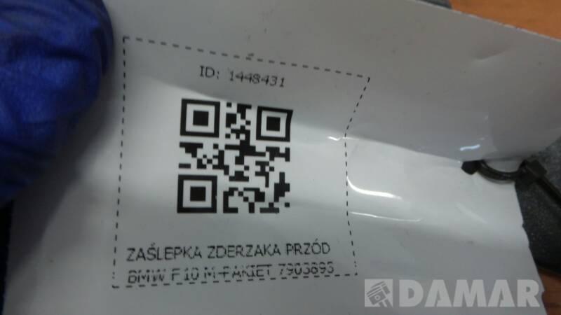7903893 ZASLEPKA ZDERZAKA PRZOD BMW F10 M-PAKIET