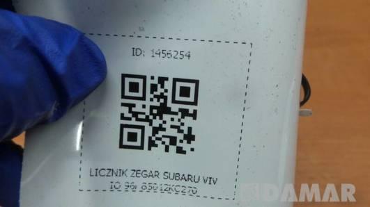 85012KC270 LICZNIK ZEGAR SUBARU VIVIO 96r