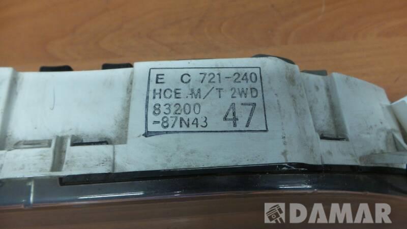83200-87N43 LICZNIK ZEGAR DAIHATSU CHARADE 1.3 94r