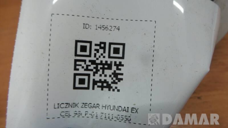 7111-0550 LICZNIK ZEGAR HYUNDAI EXCEL 98r