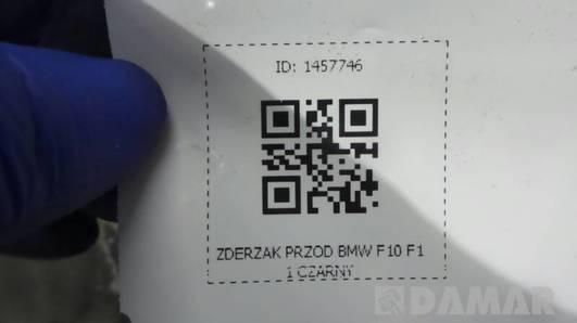 ZDERZAK PRZOD BMW F10 F11 CZARNY 7232328-02