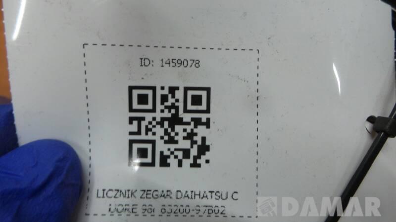 83200-97B02 LICZNIK ZEGAR DAIHATSU CUORE 98r