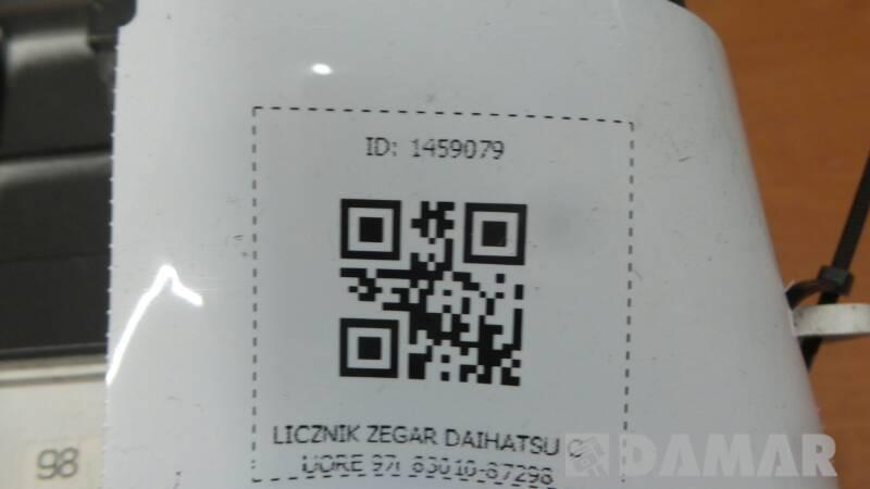 83010-87298 LICZNIK ZEGAR DAIHATSU CUORE 97r