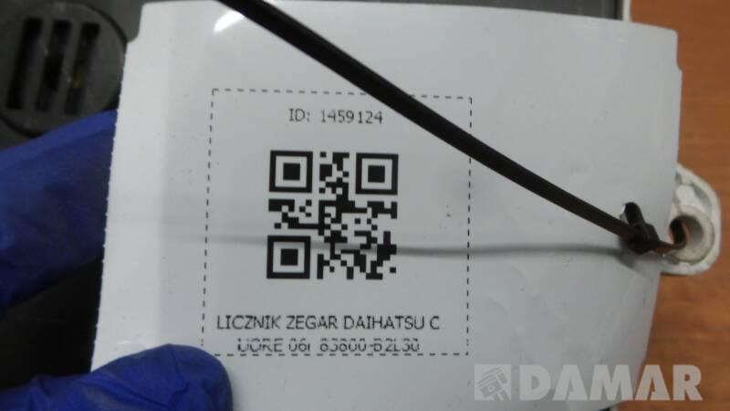 83800-B2L30 LICZNIK ZEGAR DAIHATSU CUORE 06r