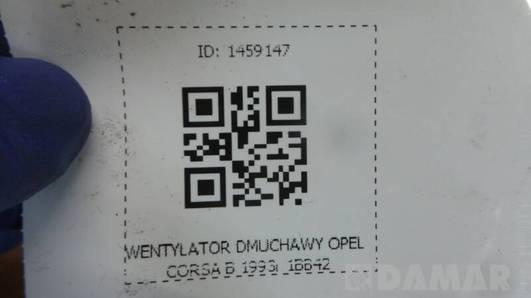 1BB42 WENTYLATOR DMUCHAWY OPEL CORSA B 1993r