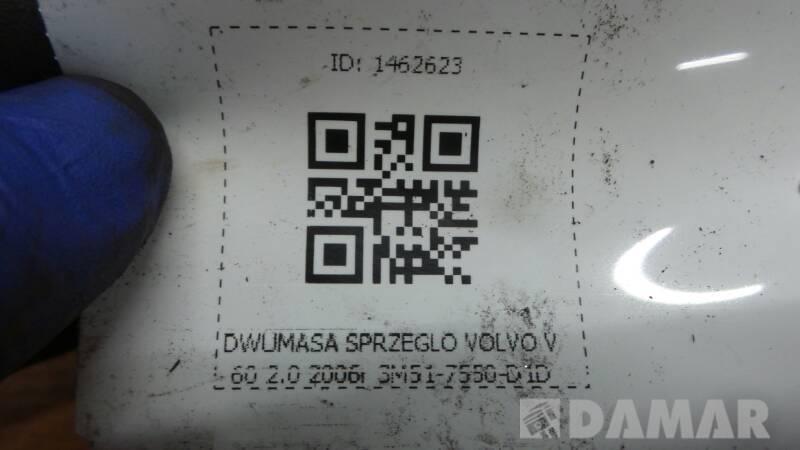 DWUMASA SPRZEGLO VOLVO V60 2.0 2006r 3M51-7550-D1D
