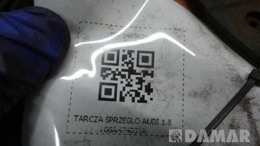 TARCZA SPRZEGLO AUDI 1.8i 06A474031A