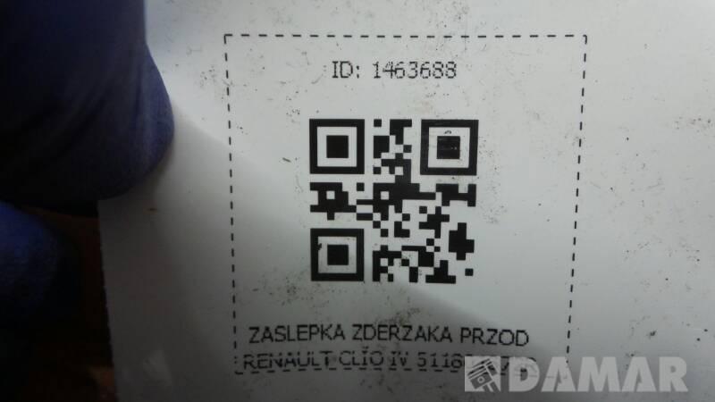511801872R ZASLEPKA ZDERZAKA PRZOD CLIO IV
