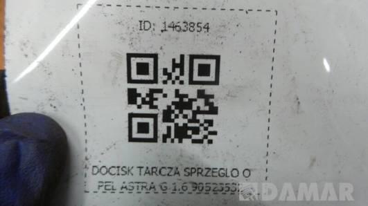 90523532 DOCISK TARCZA SPRZEGLO OPEL ASTRA G 1.6