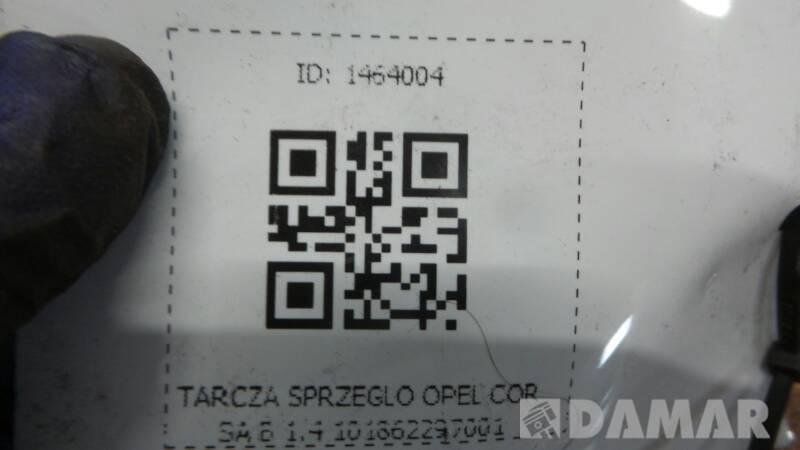 TARCZA SPRZEGLO OPEL CORSA B 1.4 101862297001