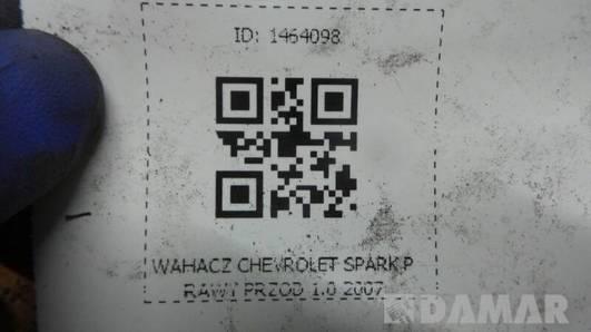 WAHACZ PRAWY PRZOD CHEVROLET SPARK 1.0 2007